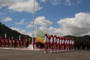 Polres Ngada Bersama pemerintah daerah Mantapkan pasukan jelang Upacara HUT RI Ke-72