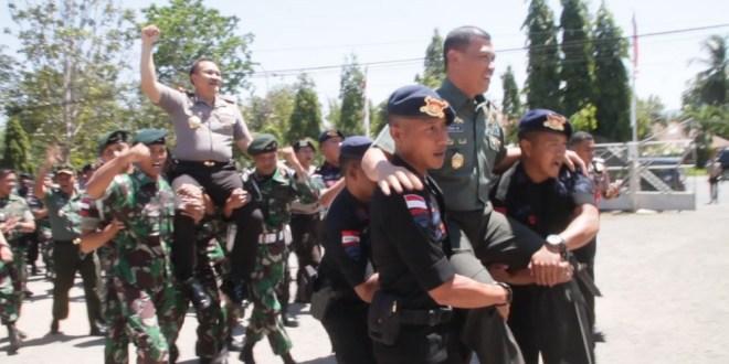 Sinergitas Polri-TNI di Tapal Batas Belu-Timor Leste