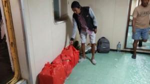 Sejumlah Minuman Keras Lokal diamankan Satuan Narkoba Polres Kupang Kota di Pelabuhan Tenau