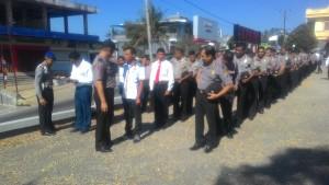 Polres TTS gelar pemeriksaan sikap tampang dan kelengkapan personil Polres TTS