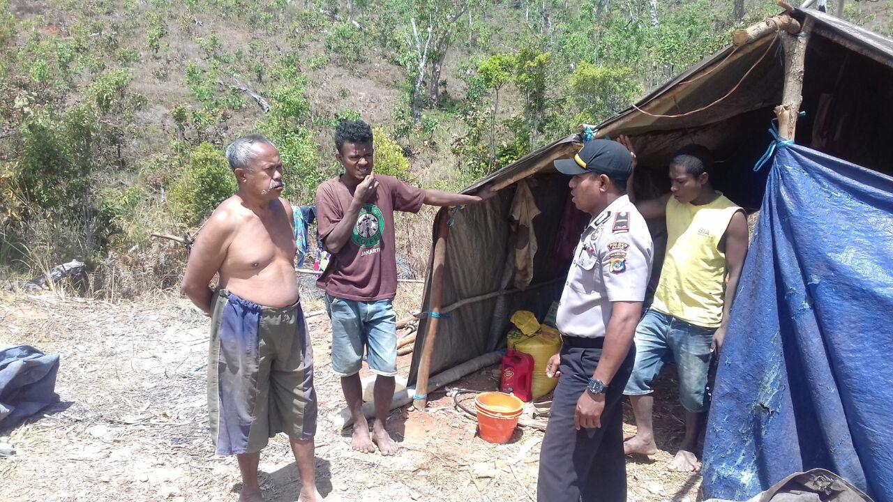 Cegah Kebakaran Hutan dan Lahan Kapolsek Alor tingkatkan Patroli