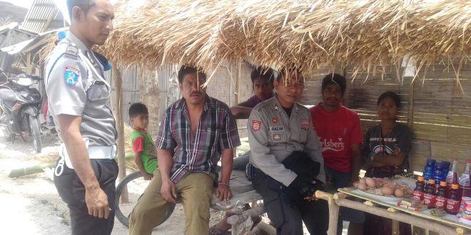 Hadapi gangguan kamtibmas akibat musim kemarau, Polsek Matawai laksanakan patroli dialogis