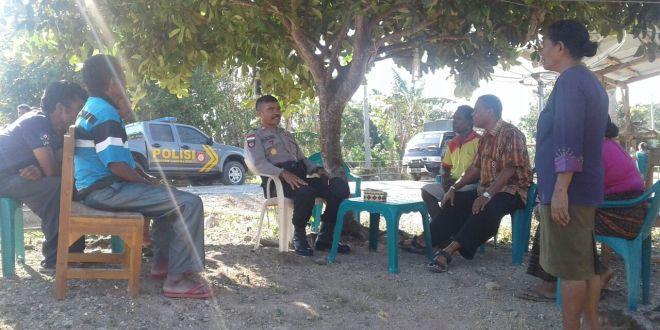 Kapolsek Laenmanen Minta Masyarakat Hentikan Aksi Bakar Hutan