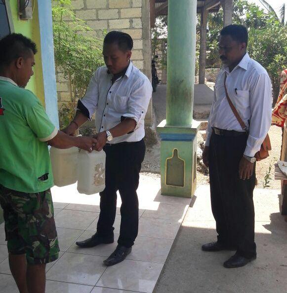 Polres Kupang Kota Sita Puluhan Liter Miras Lokal saat Menggelar K2YD