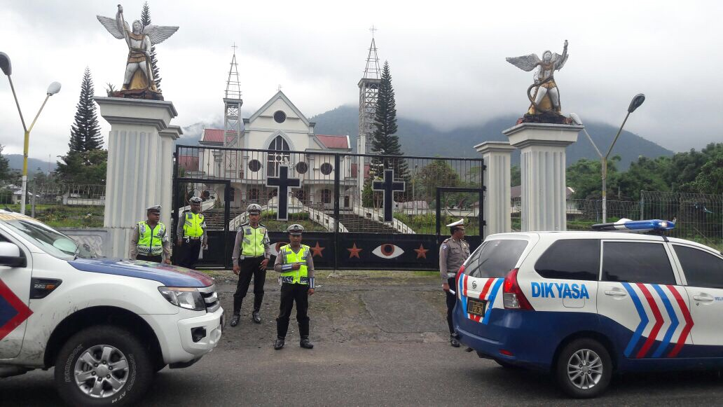KBO Lantas Polres Manggarai Pimpin Patroli di Seputaran Kota