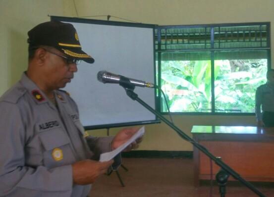 Wakapolres Manggarai Barat Pimpin Upacara Penutupan Pelatihan Satpam