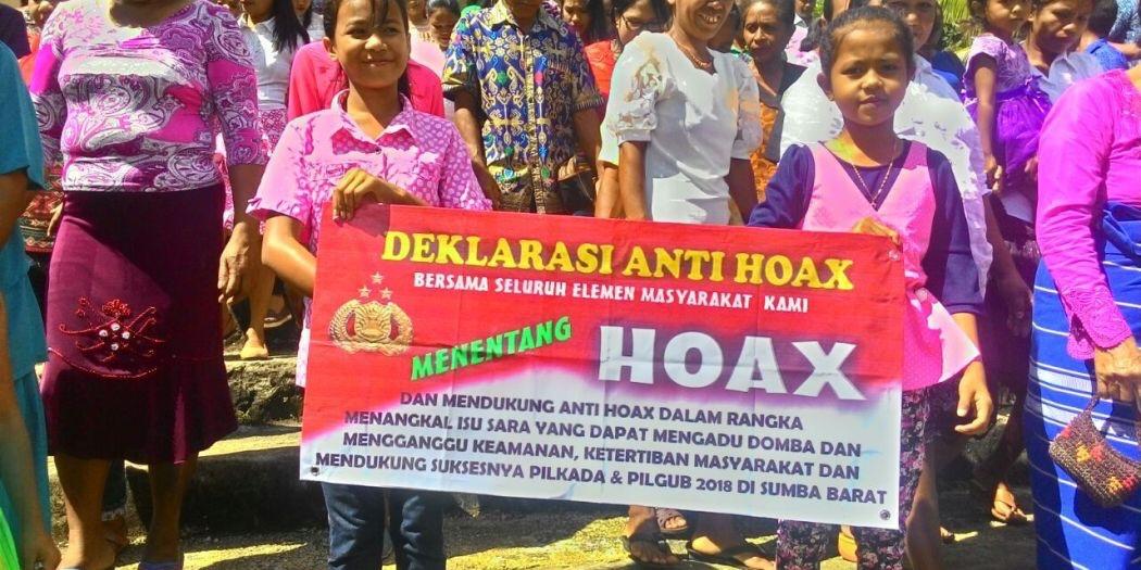 Deklarasi Anti Hoax Makin Marak Di Kalangan Masyarakat