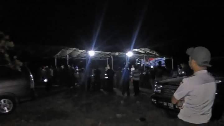 Pilgub NTT 2018:Turun Malam Hari, Polsek Raihat Jaga Kampanye Tatap Muka Paket HARMONI