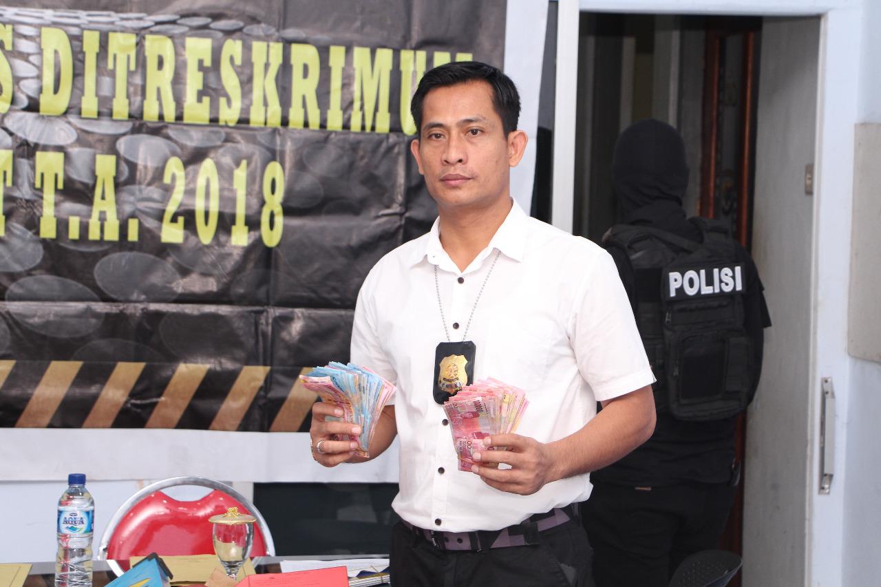 Timsus Anti Judi Subdit III Jatanras  Ditreskrimum Polda NTT berhasil Ungkap Kasus Judi beromset Ratusan Juta rupiah Perhari