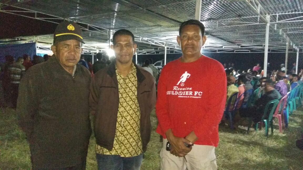 Waka Polsek Borong Pimpin Personil Polsek Borong Melaksanakan Pengamanan Kampanye Paslon Bupati Dan Wakil Bupati Manggarai Timur Dari Paket Tabir
