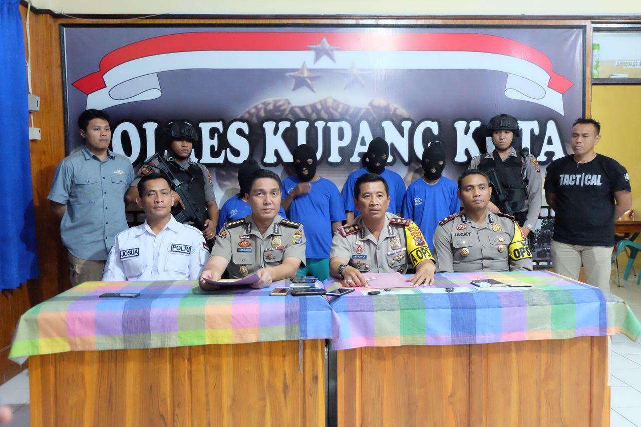 Polres Kupang Kota Lakukan Konferensi Pers terkait Kasus Penculikan Anak