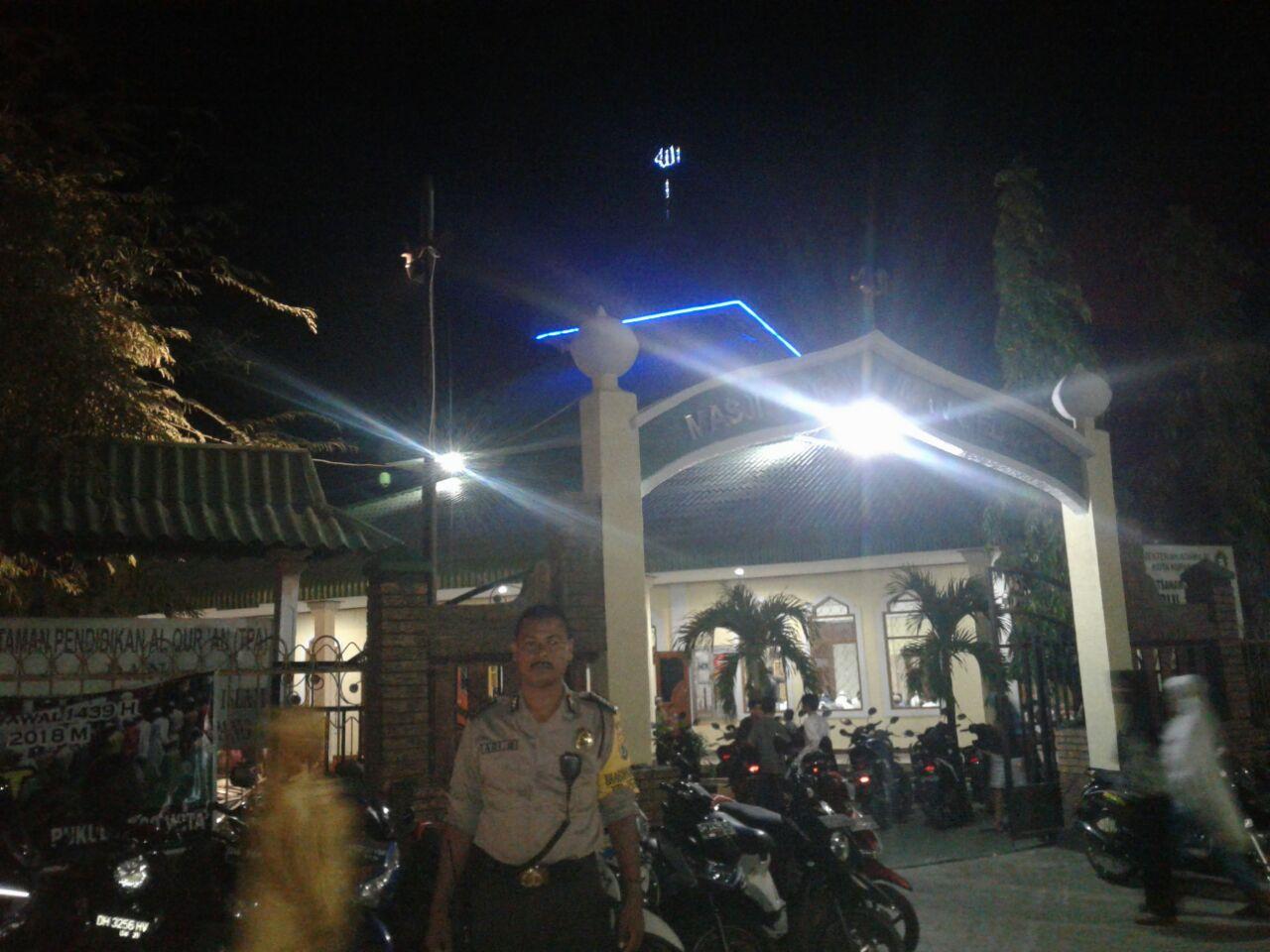 Sholat Tarawih, Polres Kupang Kota laksanakan pengamanan