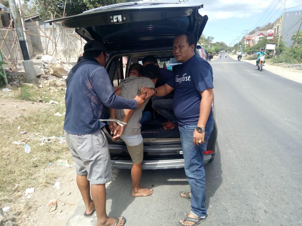 Para Pelaku Pengroyokan Satpam Bank BRI KCP Labuan Bajo Dibekuk Tim Jatanras Polres Mabar