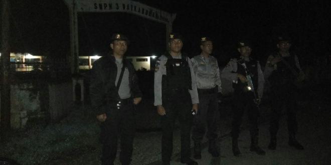 Menekan Angka Kriminalitas, Personil Dalmas tingkatkan patroli
