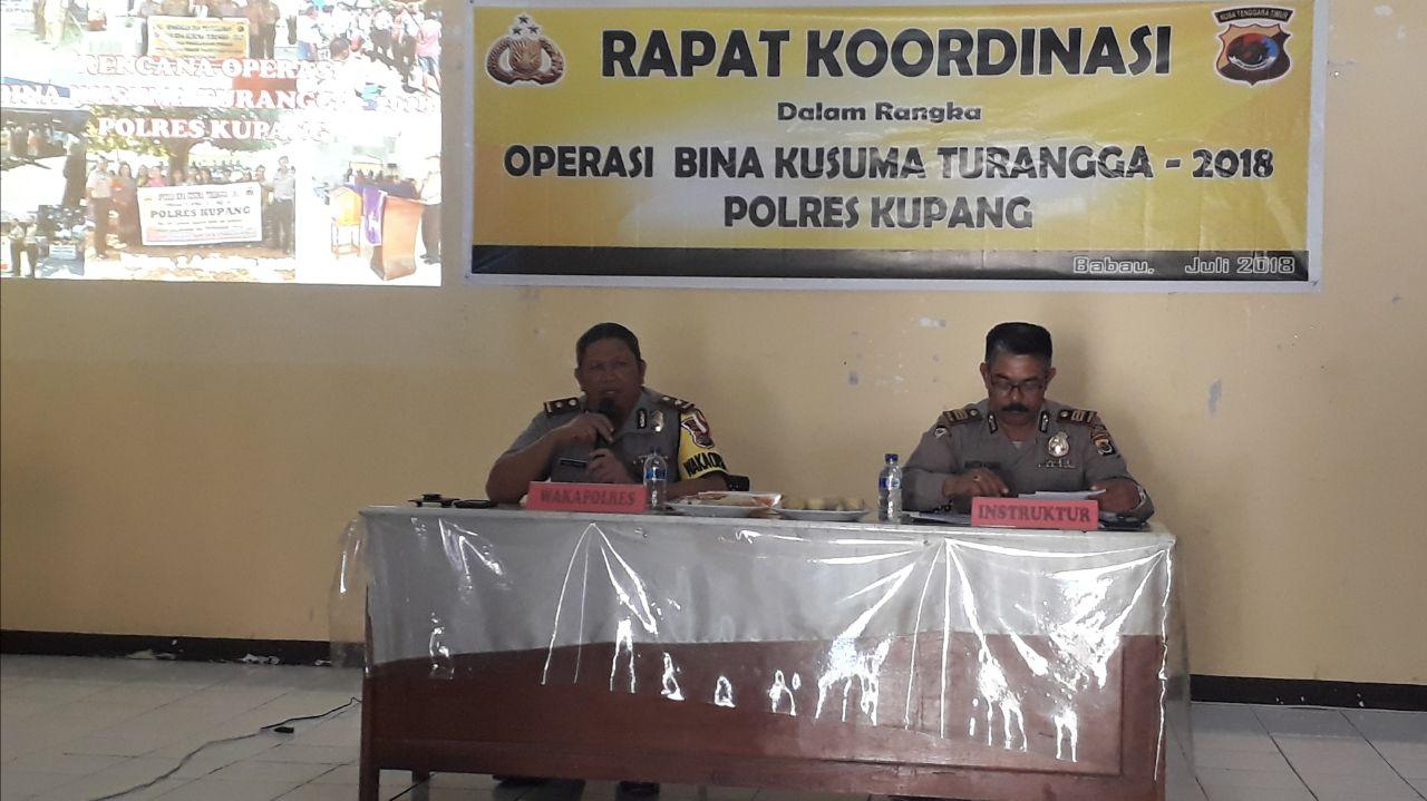 Lat Praops Bina Kusuma 2018 Polres Kupang