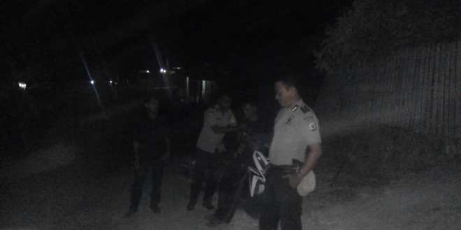 Imbauan pada Gelaran Patroli Malam Polsek Mamboro