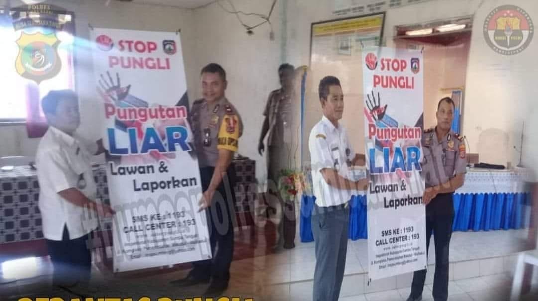 Satgas Saber Pungli polres Sumba Barat gelar Sosialisasi di Sumba Tengah
