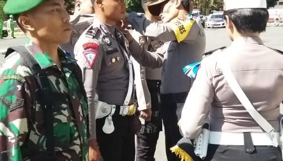 Wakapolres Ngada Pimpin apel Operasi Lilin Turangga 2018
