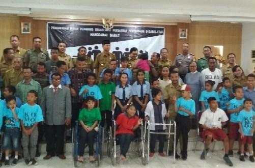 Wakili Kapolres, Wakapolres Manggarai Barat Hadiri Perayaan Hari Penyandang Disabilitas Dunia