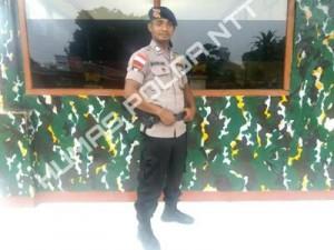 Inilah Sosok Anggota Brimob Manggarai yang Berhasil Menyelamatkan Percobaan Bunuh Diri di Jembatan Wae Gari