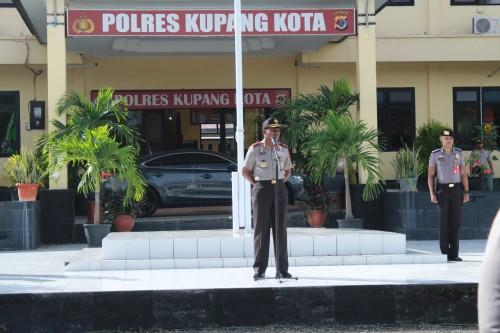 Kunjungi Polres Kupang Kota, Wakpolda NTT Minta Anggota Layani Masyarakat dengan Humanis