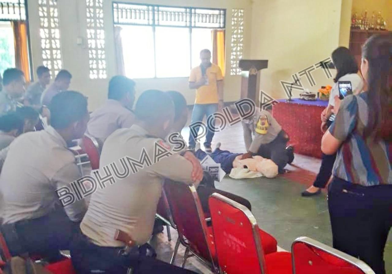 Polres Mabar Gandeng Siloam Hospital Gelar First Aid Training
