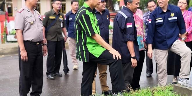 Wakapolres Manggarai Barat Sambut Kunjungan Kerja Wakil Menteri ESDM di Labuan Bajo