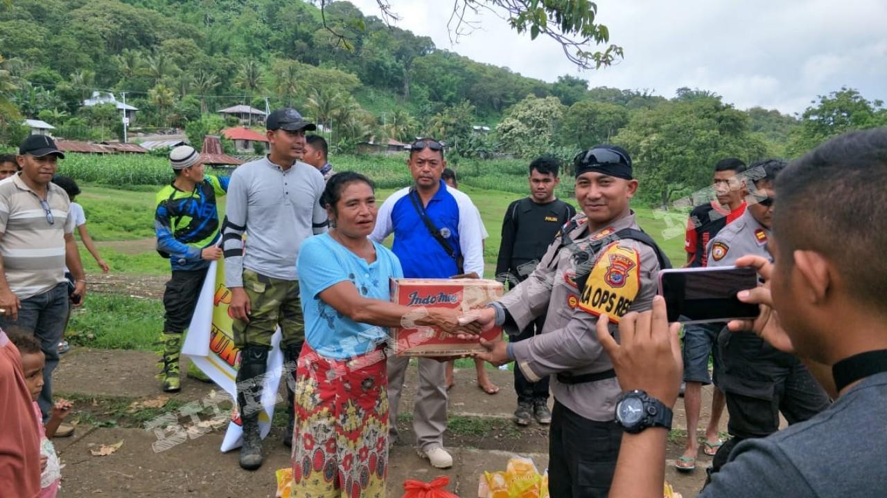Kapolres Ngada Melaksanakan Bakti Sosial di Desa Keja