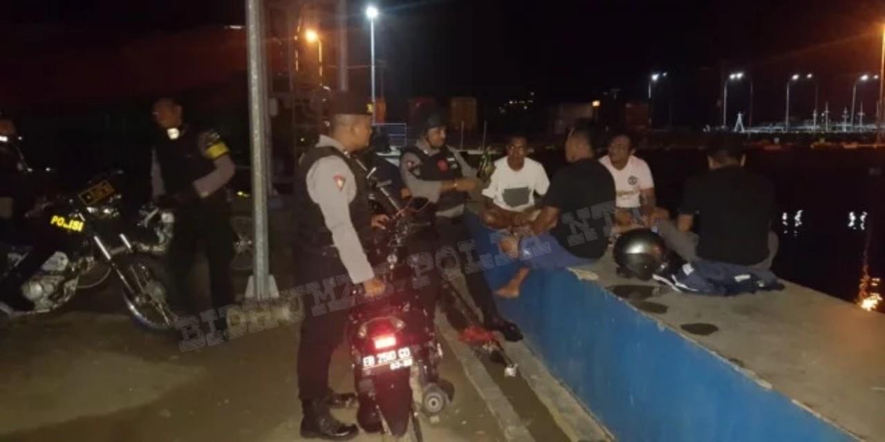Samapta Polres Mabar Laksanakan Patroli Malam di Kota Labuan Bajo