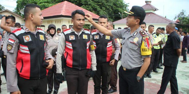 Waka Polres Belu Riksa Simpang Personil Belu