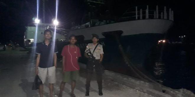 Giat Rutin Patroli Malam KP3 Laut