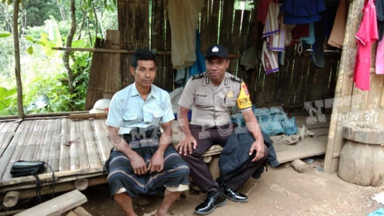 Lebih Dekat dengan Warga Binaannya, Bhabinkamtibmas Nuaone Laksanakan DDS