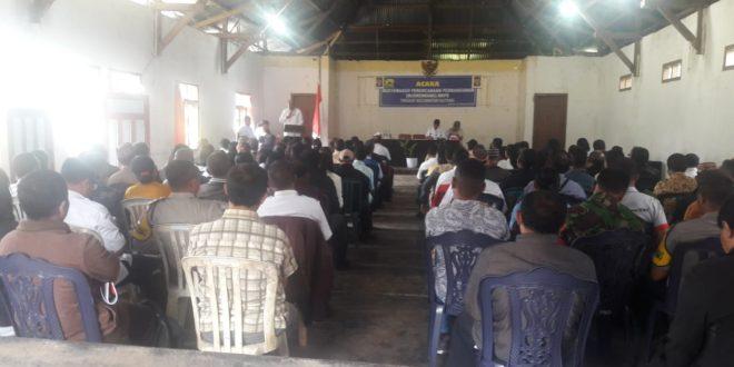 Bhabinkamtibmas Kecamatan Ruteng Hadiri Musrenbang Tingkat Kecamatan