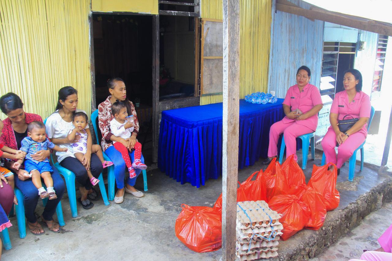 Anjangsana Bhayangkari Cabang Satrbimobda NTT