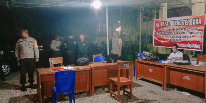 Patroli Satsabhara Sambangi PPK Maulafa dan Kelapa Lima