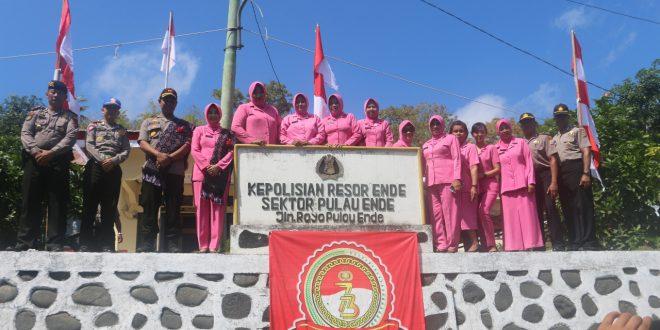 Kunjungan Kerja Kapolres Ende Ke Polsek Pulau Ende