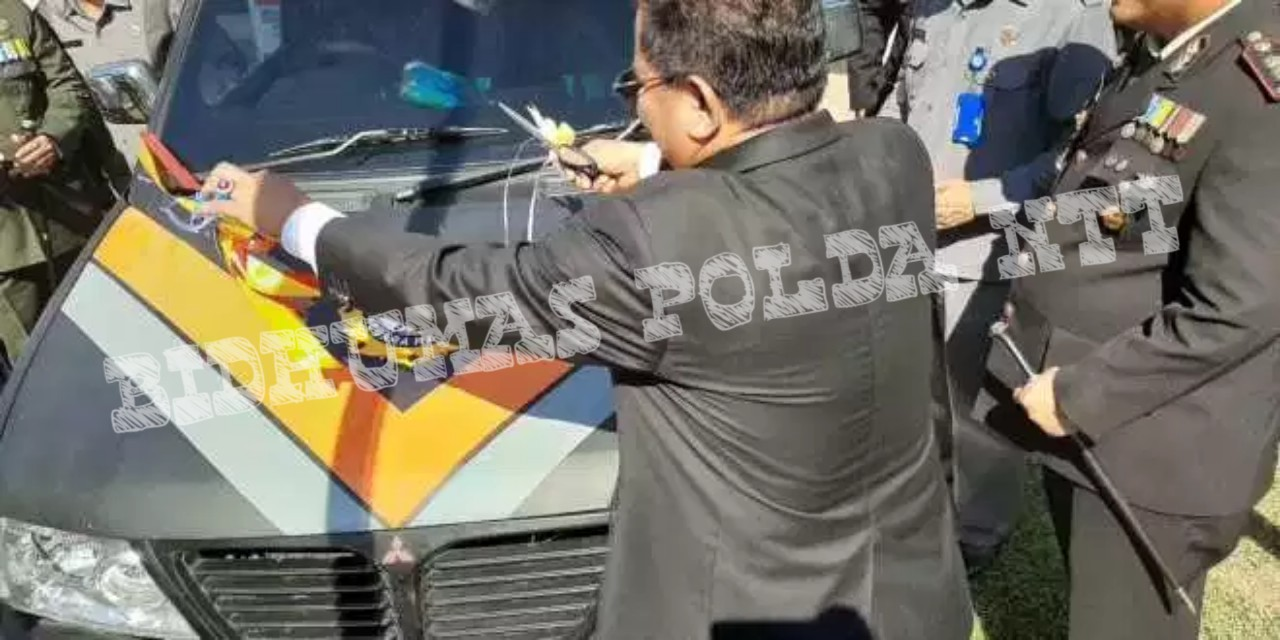 Hari Bhayangkara Ke- 73, Polres Sumba Timur Luncurkan Mobil Pelayanan SKCK Keliling