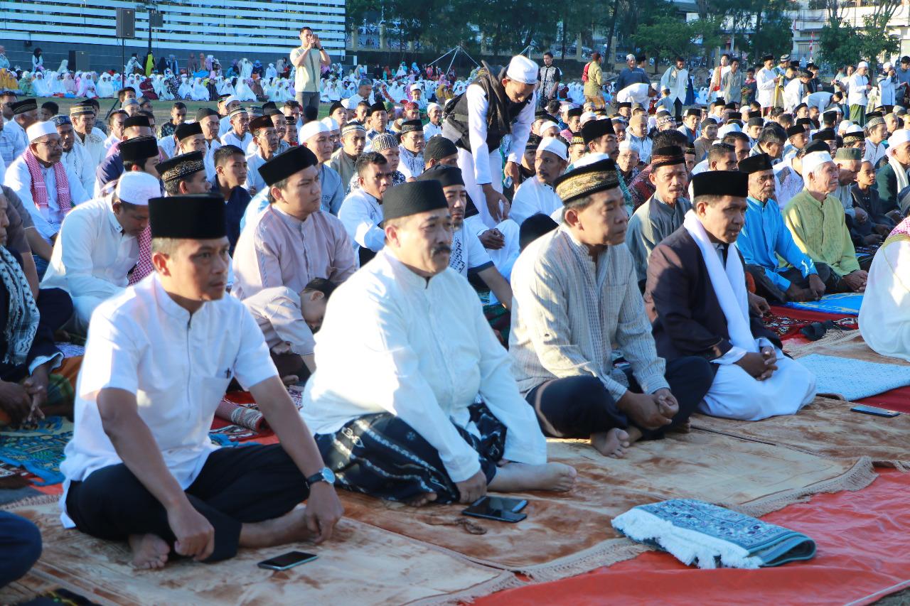 Hari Raya Idul Adha 1440 H, Kapolda NTT Ikut Sholat Ied