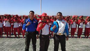 Ipda Ngakan Putu Purna terpilih melatih paskibra Kabupaten Kupang