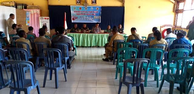 Pimpin Sosialisasi Saber Pungli, Wakapolres Flotim Sampaikan Bentuk Perilaku Pungutan Liar dan Sanksinya