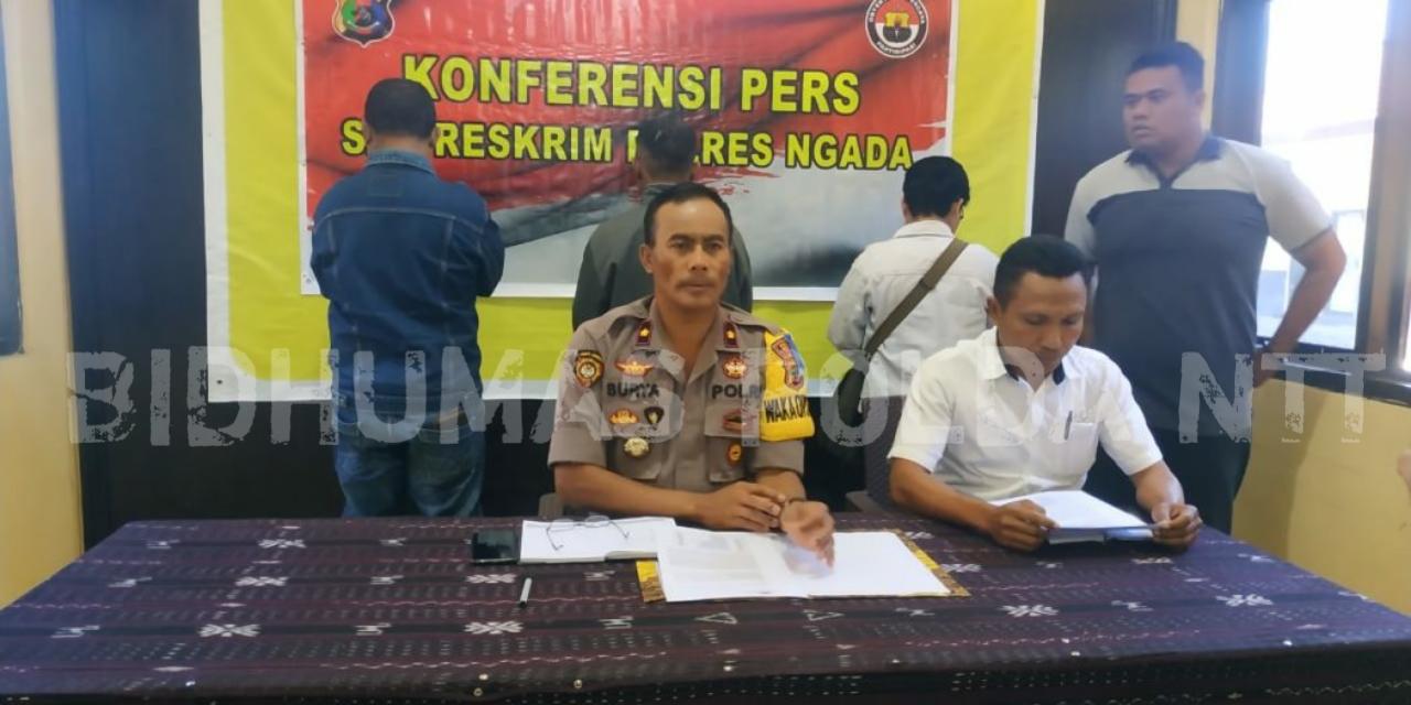 Penyidik Tipidkor Polres Ngada Tahap II Kasus Penyalahgunaan Dana Desa