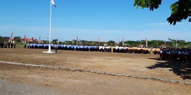 Personel Polres Sumba Barat Hadir Dalam Upacara Hari Kesaktian Pancasila di Kabupaten Sumba Tengah