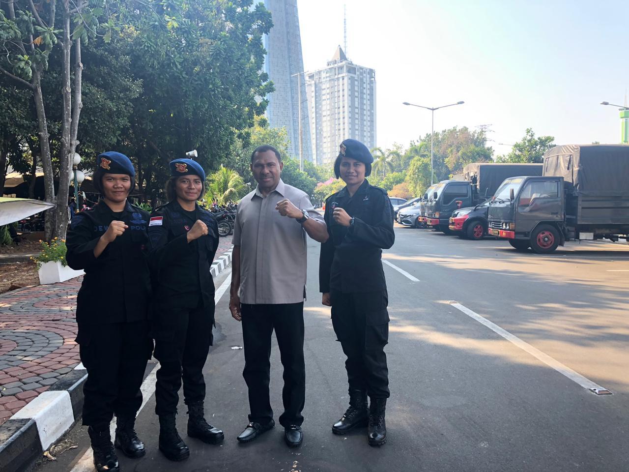 Wakapolda NTT Kunjungi Anggota Brimob BKO PMJ