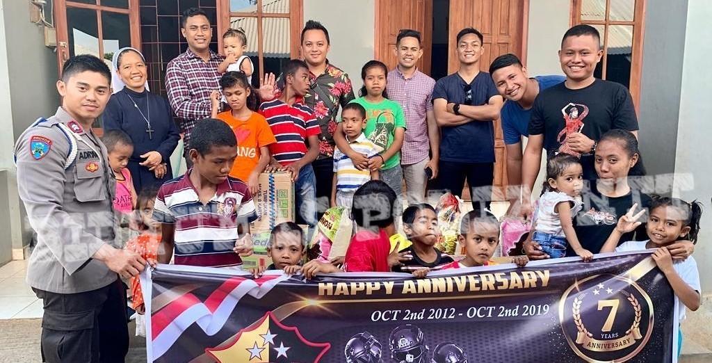 Anniversary ke-7, LDD Polda NTT Gelar Anjangsana ke Panti Asuhan