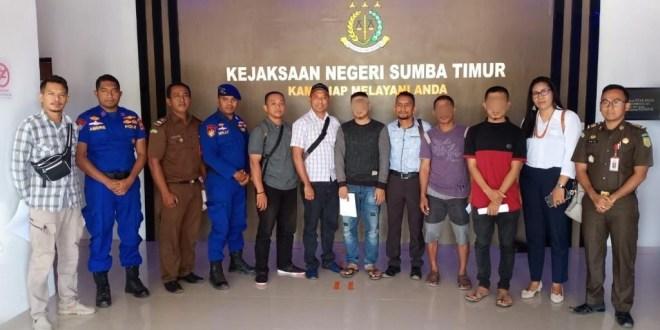 Tiga Pelaku Ilegal Fishing di Serahkan ke Jaksa