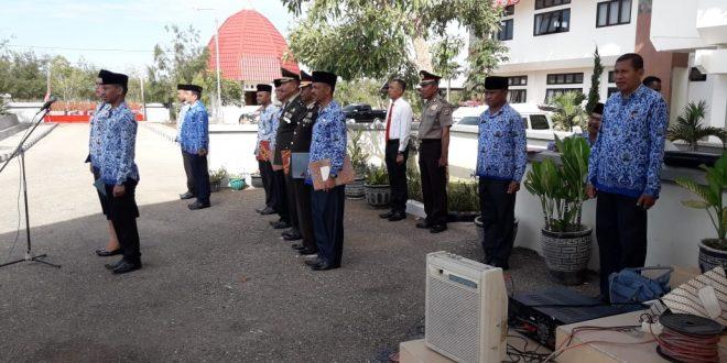 Perwira Polres TTS Hadiri Peringatan Hari Pahlawan