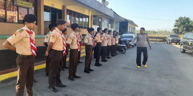 Polres TTS Laksanakan Pelatihan Pramuka Saka Bhayangkara