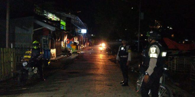 Jaga Keamanan dan Ketertiban, Satsamapta Polres Mabar Rutin Laksanakan Patroli