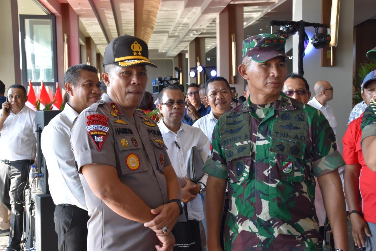 Kapolda NTT dan Pangdam IX/Udayana Pimpin Pengamanan VVIP Rangkaian Kegiatan Kunker Presiden RI di Labuan Bajo