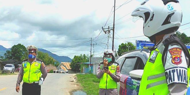 Ops Keselamatan, Satlantas Polres Belu Imbau Masyarakat Stop Mudik dan Tertib Berlalu Lintas